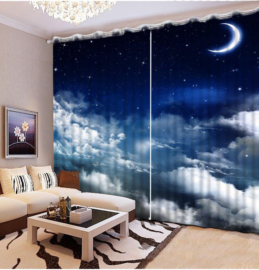 Online kaufen großhandel sky blue vorhänge aus china sky blue ...