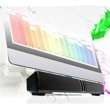 Audio Subwoofer Soundbar Wired USB Power Computer Speaker Music Player for PC IPAD Notebook TV