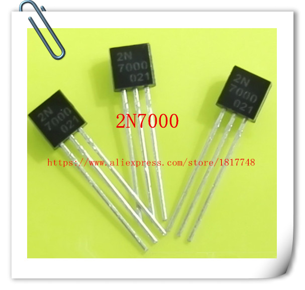 Free Shipping 50pcs/lot 2N7000 7000 TO-92 In-line transistor / small power triode ботинки bata bata ba060awxaa47