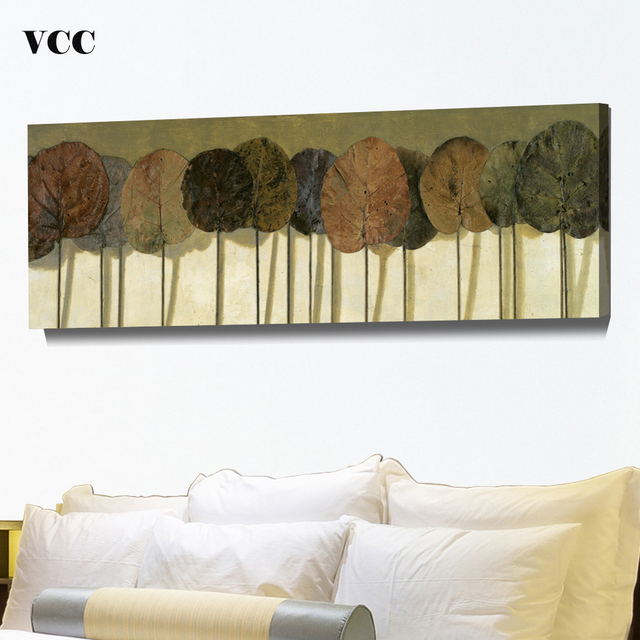 VCC Leaves Tree Picture Wall Art Canvas PaintingCuadros Decoration