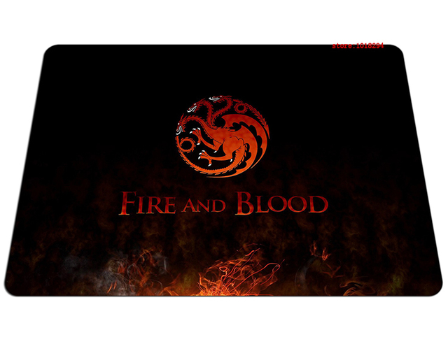 Fire and Blood Game of Thrones Mousepad