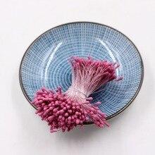400pcs 1.5mm Mini Stamen Handmade Artificial Flowers For Wedding Party Home Decoration DIY Christmas Scrapbook Accessories