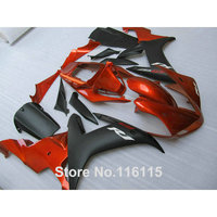 ABS Full Fairing Kit Fit For YAMAHA 2002 2003 Matte Black Copper Fairings Set Full Injection