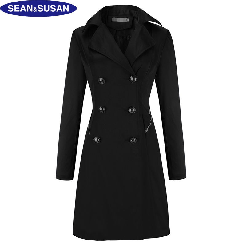 Online Get Cheap Long Black Coats for Women -Aliexpress.com