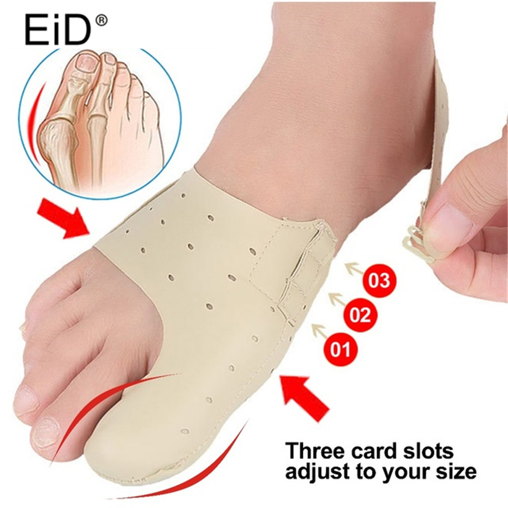 EiD Leather Orthopedic Toes Correction Insoles For Hallux Valgus  Foot Corrector Bunion Pads Shoes Pad Big Bone Orthotics Insole