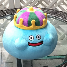 New Arrival 23CM Dragon Quest Smile Slime Plush Doll Toy Birthday Year Gift Collection