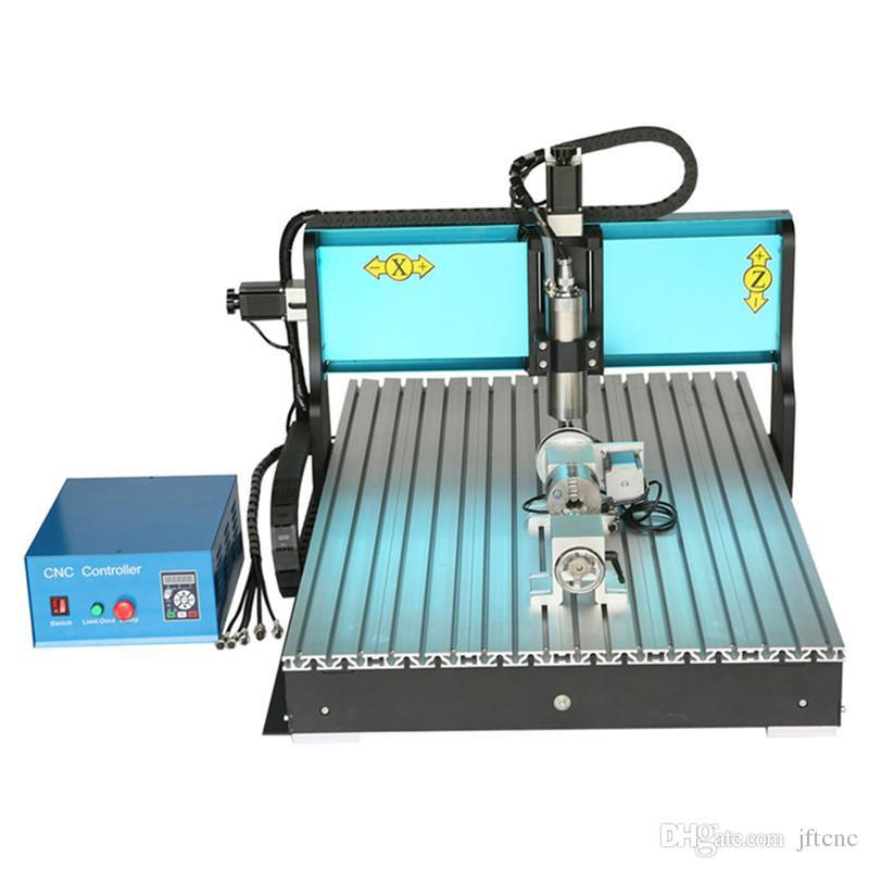 JFT High Quality Precision Drilling Machine High Efficient 4 Axis 800W Affordable CNC Router with Parallel Port 6090  jft new arrival high speed 4 axis 800w affordable cnc router with usb port precision drilling machine for woodworking 6090