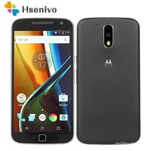 Débloqué Original Motorola Moto G4 XT1625 G4 + G4 plus XT1644 5.5 Pouce 13MP Caméra octa base D'empreintes Digitales Android Téléphone