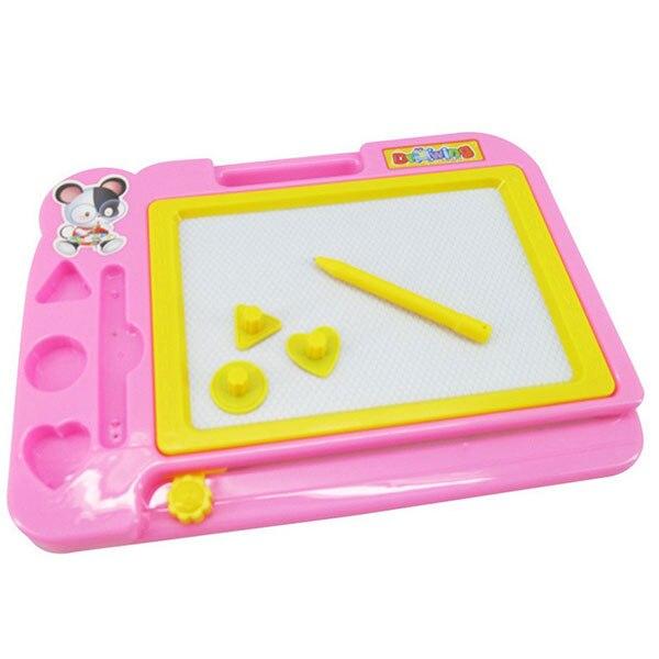 Магнитная доска для рисования, 20*28 см, коврик для рисования, граффити, Детские обучающие игрушки