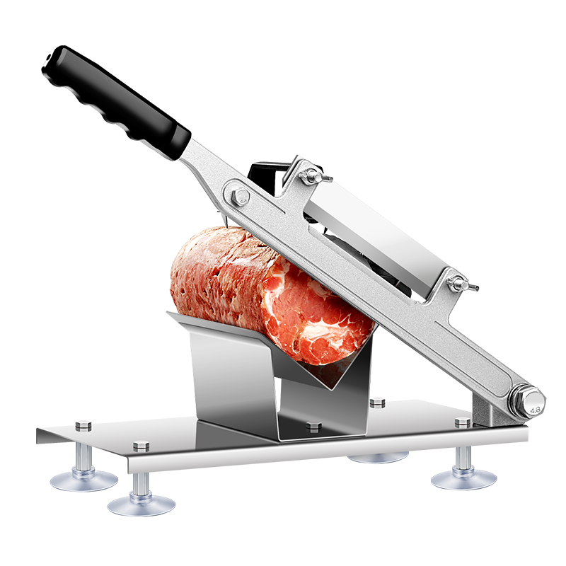 Lamb Slicer Manual Meat Machine Commercial Home Shabu Mutton Fat Beef Rolls Frozen Meat Grinder Planing Machine meat slicer stainless steel home business mutton volumes sliced beef slices shred meat planing machine