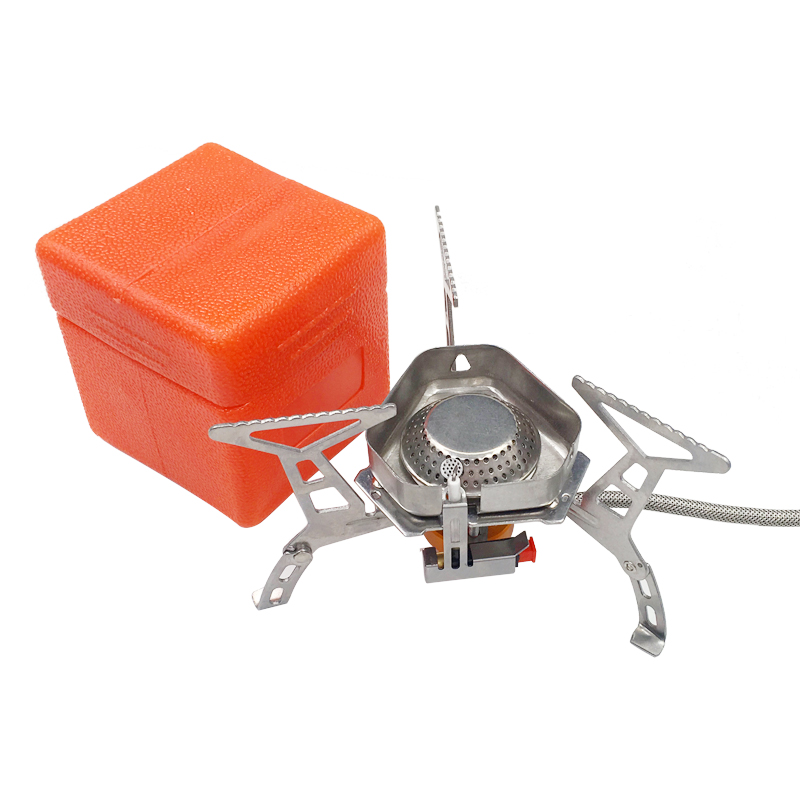 3500W Portable Outdoor Camping Hiking Gas Stove Folding Cooking Burner BOX