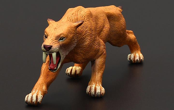 Classic-Toys Figure Tiger-Animals Saber-Toothed Smilodon Boys for Childrens 15cm Paleontology