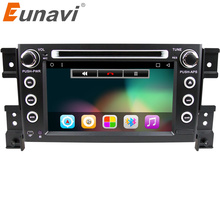 Eunavi 2 din android 6.0 car DVD player for Suzuki grand vitara  car radio stereo gps with steering wheel camera DVR Map IN DASH