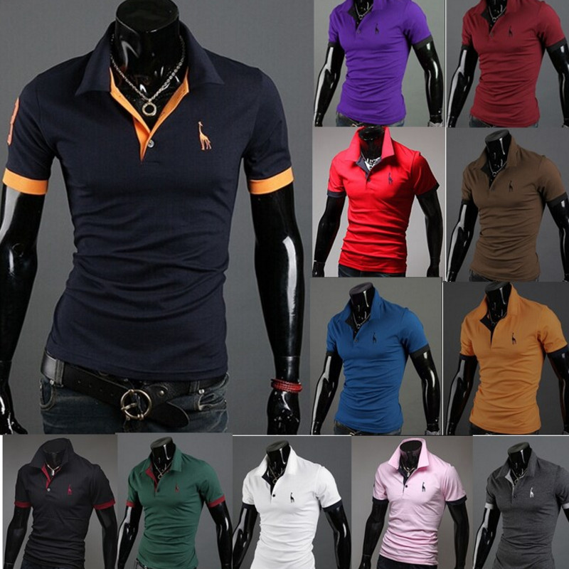 Brand New Men's   Polo   Shirt Men Cotton Short Sleeve Shirt Sportspolo Jerseys Golftennis Plus Size M-2XL Camisa   Polos   Homme
