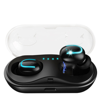 ZAPET New True Wireless Earphones Bluetooth Stereo Headphone Wireless Earbuds with Charging Case Built in HD Mic