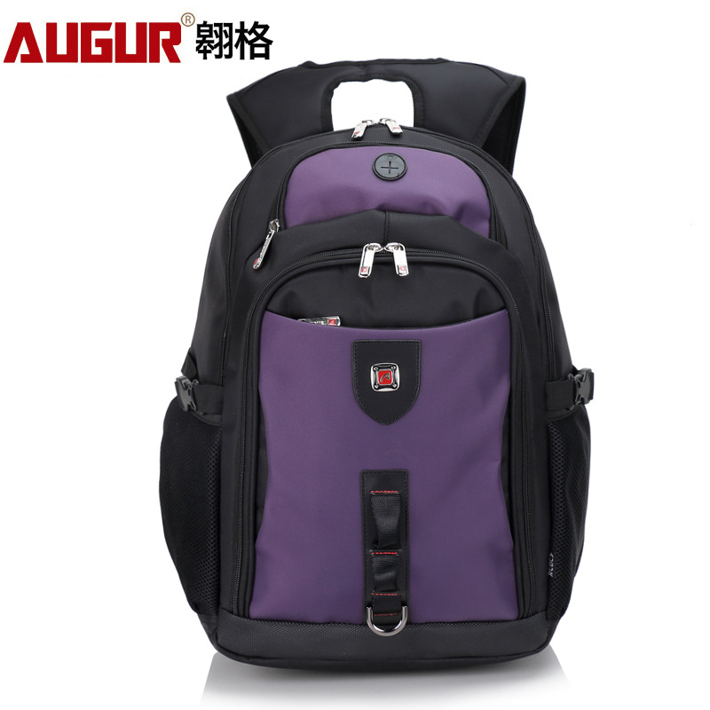 AUGUR 2018 Brand Men Backpack Waterproof Teenage college Day back Larger Capacity Travel Bag  17inch Laptop Back pack For Male augur oxford 17inch laptop men backpack large capacity student school bag for college patchwork business trip men rucksack