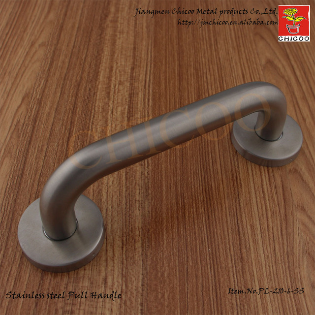 10pcs Securit Door Handles With Roses 6 Inch Stainless Steel 304