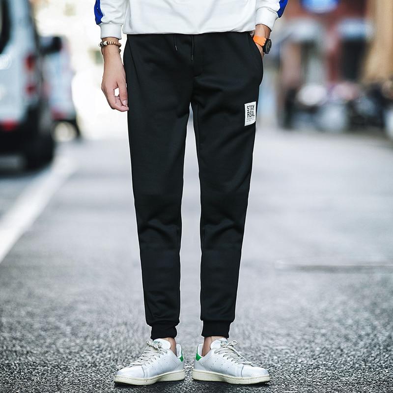 Frühling Casual Men Sweat Pants Männliche Baumwolle Sportswear - Herrenbekleidung - Foto 5