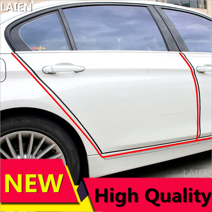 Image 3 - New product 5Meter car door adhesive anti shine fit For Audi A3 A4 A5 A6 Q3 Q5 Q7 Auto Decal Accessories Car Styling-in Car Stickers from Automobiles & Motorcycles