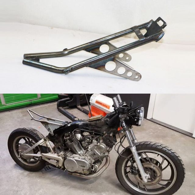 US $219 99 |Handmade Modified Cafe Racer Seat SUBFRAME For YAMAHA VIRAGO  XV750 /920 CAFE RACER SUBFRAME on Aliexpress com | Alibaba Group