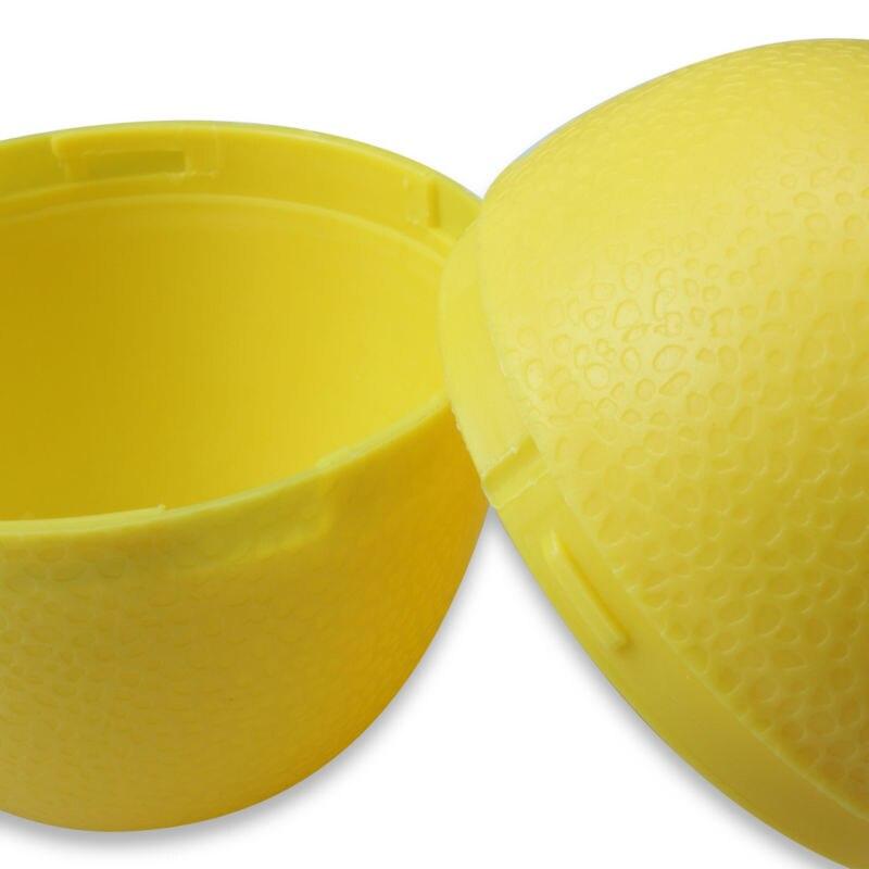 5 x Lemon Sealed Crisper Plastic Storage Refrigerator Food fruit (7)