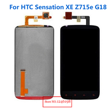 Black LCD Display Touch Screen Digitizer Assembly For HTC Sensation XE Z715e G18 Phone Replacement Parts