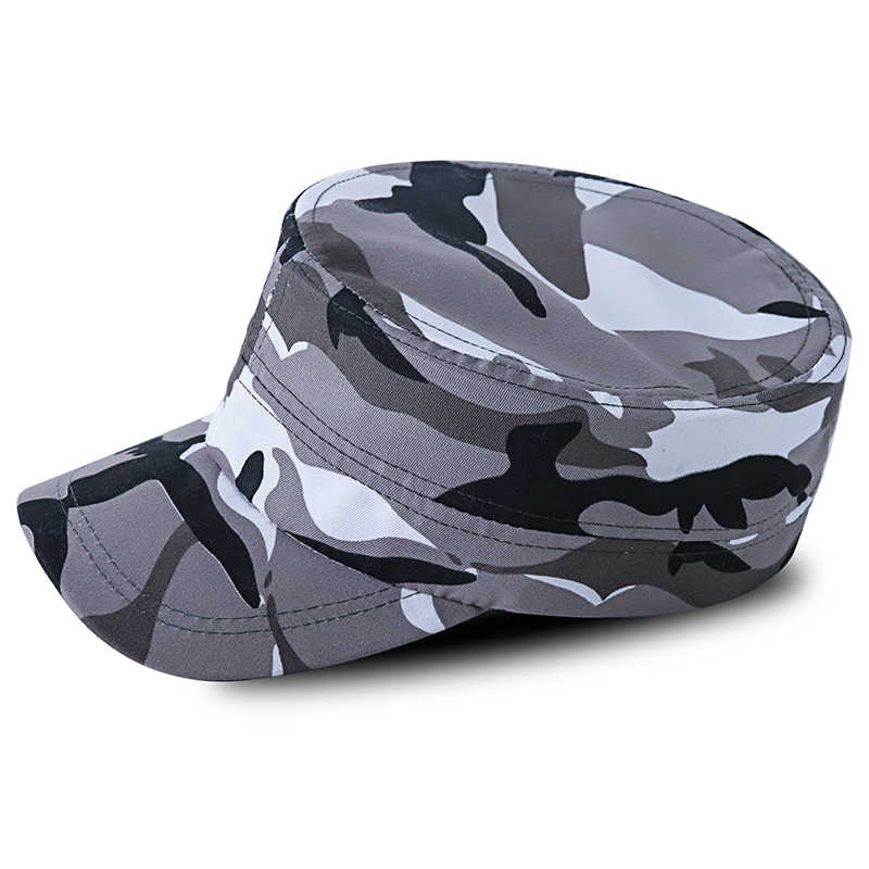 Outdoor Hunting Cap Military Army Tactical Military Fishing Hat Caption Camouflage Men Cap Gorras Militar Camo Fabric Hat 1665
