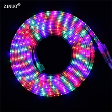 IP65 220V Led Strip 3014 SMD Multicolor 72 LED/M RGB Waterproof Flexible LED Tape Ribbon light AC220V 1M 2M 5M 10M outdoor