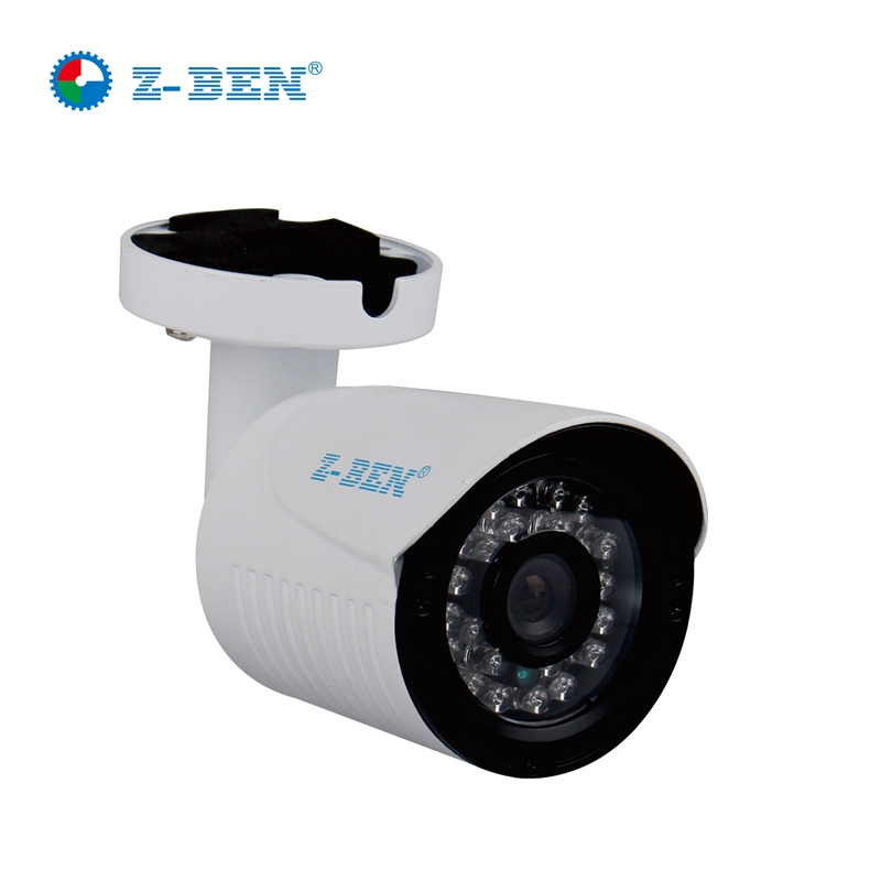 Free Shipping Z-BEN 1.0MP 1/4'' H62 AHD Camera Bullet Surveillance Camera with IR-Cut Filter 24PCS IR LED Waterproof Outdoor bullet camera tube camera headset holder with varied size in diameter
