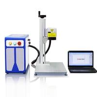 30W Desktop Fiber Laser Marking Machine For ABS Watch Jewelry Gold Silver