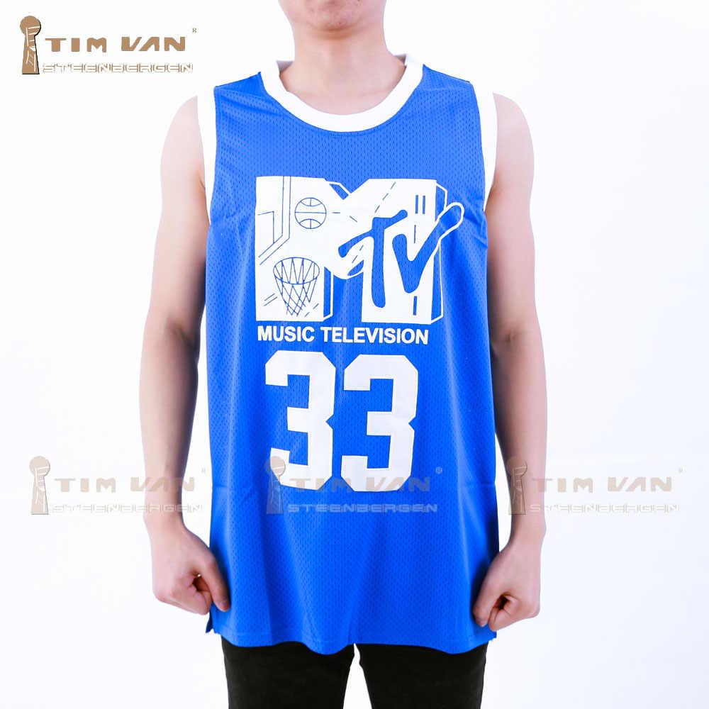TIM VAN STEENBERGEB Will Smith 33 Basketball Jersey First Annual Rock N   Jock B- cb6e77978