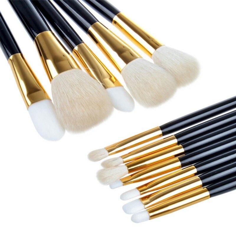 5Pcs/7Pcs/12Pcs Makeup Brush Set Foundation Powder Eye Shadow Pencil Lipsticks Beauty Brushes Kit Tools