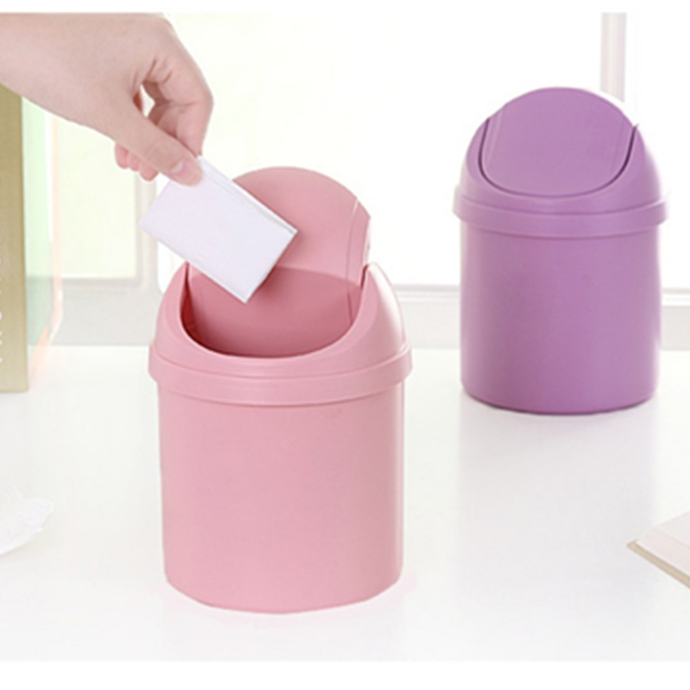 1 pcs car shake cover trash can with cover small trash can debris storage cleaning