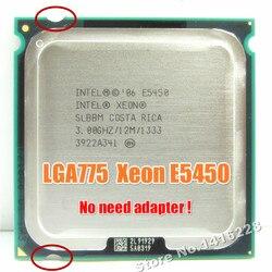 Процессор Xeon E5450 3,0 ГГц 12 м 1333 МГц равен intel Q9650 работает на материнской плате lga 775 без адаптера