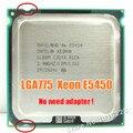 Intel xeon e5450 procesador xeon 775 cpu de 3.0 ghz 12 m 1333 mhz igual a q9650 trabaja en lga775 placa base no hay necesidad de adaptador