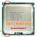Intel xeon e5450 xeon 775 cpu processador 3.0 ghz 12 m 1333 mhz igual a obras em mainboard lga775 q9650 não há necessidade de adaptador