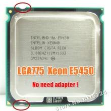 Procesor Xeon E5450 3.0GHz 12M 1333Mhz równy intel Q9650 działa na płycie głównej lga 775 bez potrzeby adaptera
