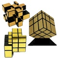 ShengShou Magic Cube 3x3x3 Straight Drawing Mirror Twist Game  Strengthen Professional Magnetic Speed Magic Puzzle Cube Cubo