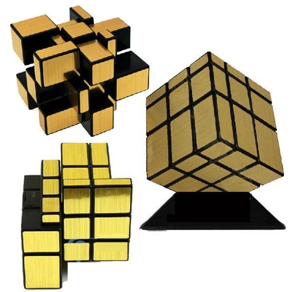 ShengShou Puzzle Cube 3x3x3 Desen Desen Oglinda Twist Game Consolidarea Professional Puzzle Magnetic Viteza Cubo