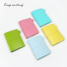 A6 Grid Paper Organizer notebooks travel journals agenda personal size PU Leather school Stationery Dotted pages line Blank BOOK