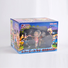 Anime One Piece Figure Ace Promise of Brothers Statue Collectible PVC Action Figure Toy