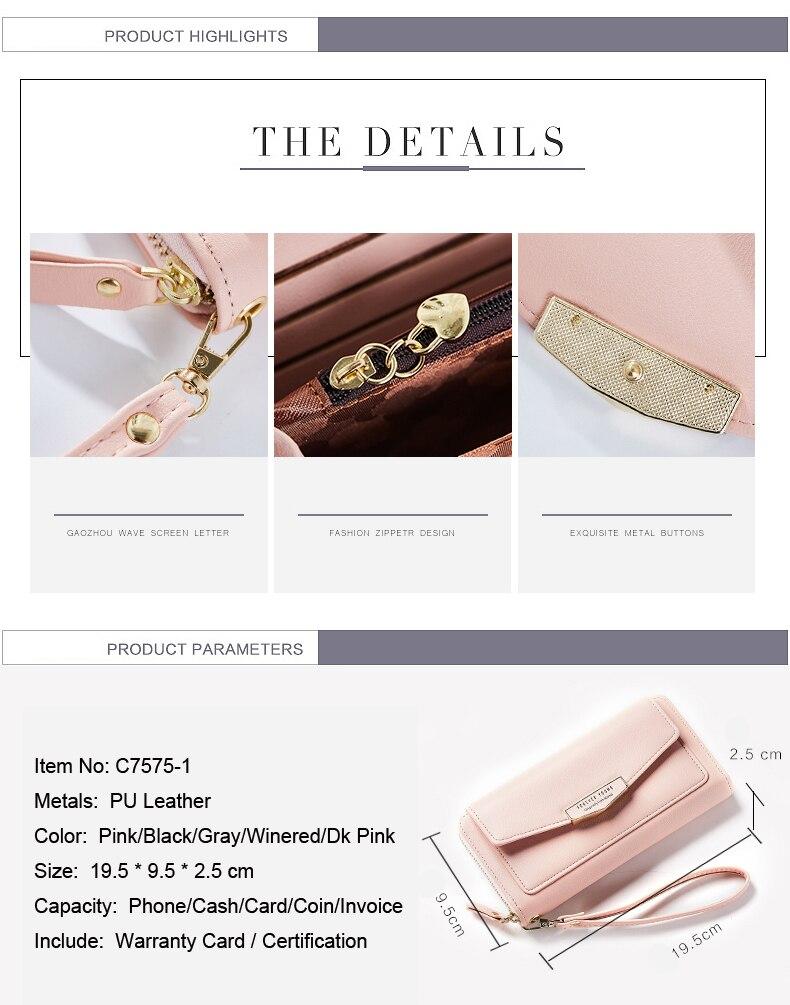 couro das senhoras bolsa embreagem marca feminina