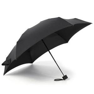 Image 4 - Guarda chuva dobrável para homens e mulheres, mini guarda chuva portátil com bolso, 180g, resistente à água, mini, de viagem