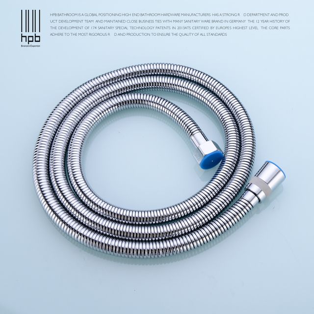 HPB 1.5m Stainless Steel Plumbing Hoses Flexible Shower Head Pipe ...