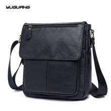 Genuine Leather bag Men Bags Messenger casual Men's travel bag leather clutch crossbody bags shoulder Handbags 2017 NEW