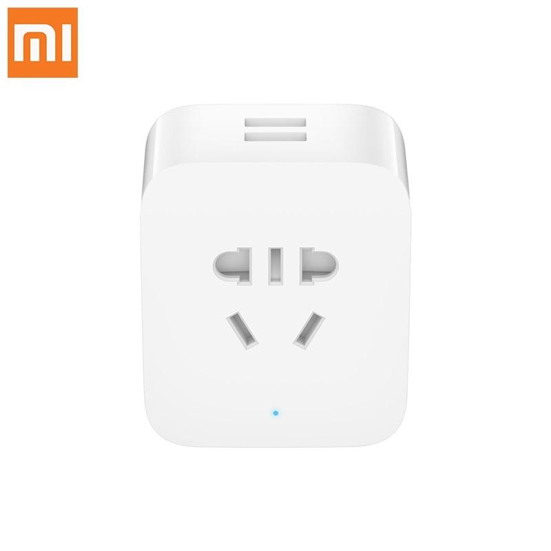 Original xiaomi socket mi home WIFI multi-function USB electric statistics smart socket enhanced version