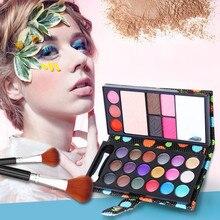дешево!  26 цветов матовая палитра теней для век макияж роскошь косметика тени для век румяна блеск для губ б Л�