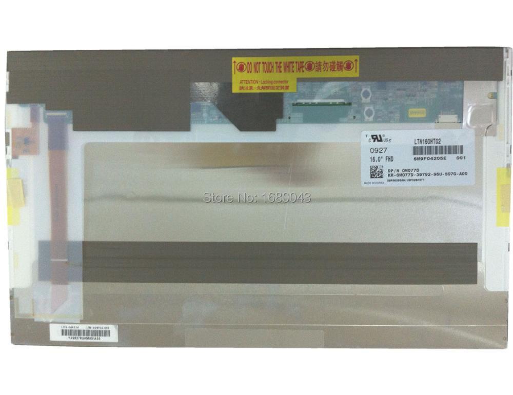 LTN160HT02 001  161920*1080 FullHD LED screen LCD Display Laptop Screen NEW