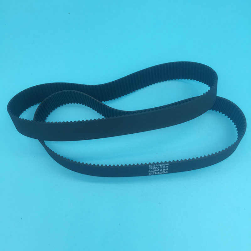 2 Pcs/lot Printer Format Besar Wit-Warna Kecil S2M-284 untuk Kecerdasan Warna Smart 9000 9100 9200 DX5 DX7 head O Ring Belt