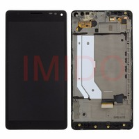 For Lumia 950 XL LCD Display Touch Screen Digitizer Assembly Frame Replacement Parts
